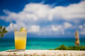 Koktejl v Dominikánské republice