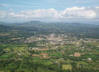 Dominikánské město Jarabacoa